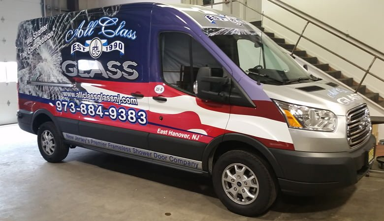 all-class-glass-van