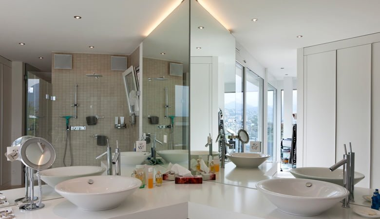 Custom Bathroom Vanities Nj custom mirrors for bathroom vanities, gyms, etc. | all class glass nj