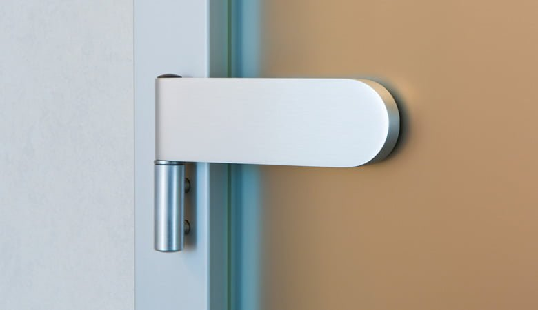 Glass Door Hinge Replairs